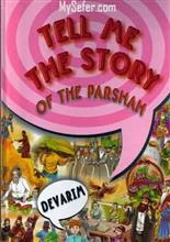 Tell me the Story of the Parsha  Devarim - Fully plastic pages